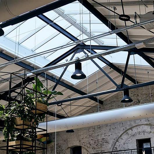 VELUX Modular Skylights in Nørrebro Library / VELUX Commercial