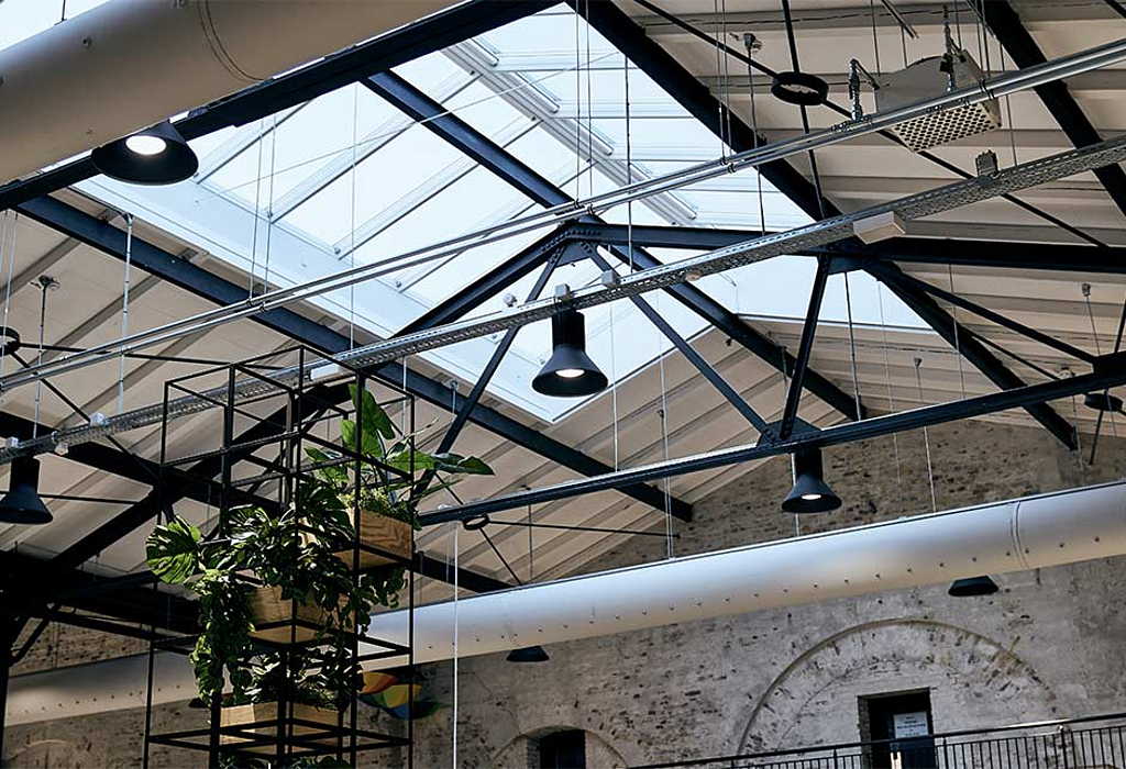 VELUX Modular Skylights in Nørrebro Library