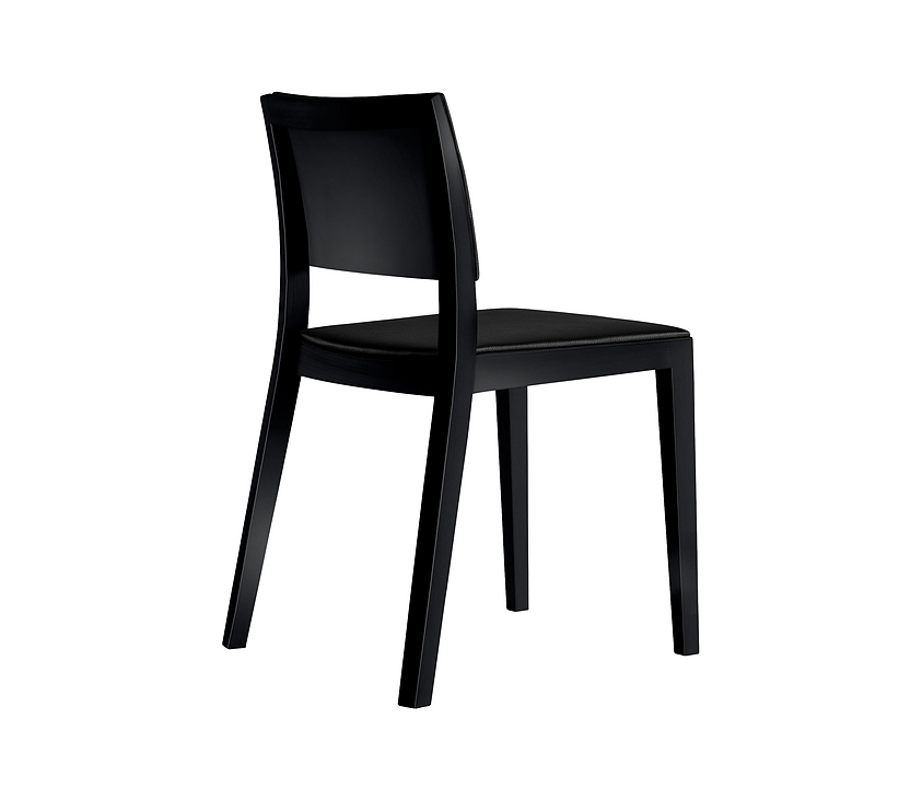 Upholstered Wooden Chair - lyra esprit 6-555