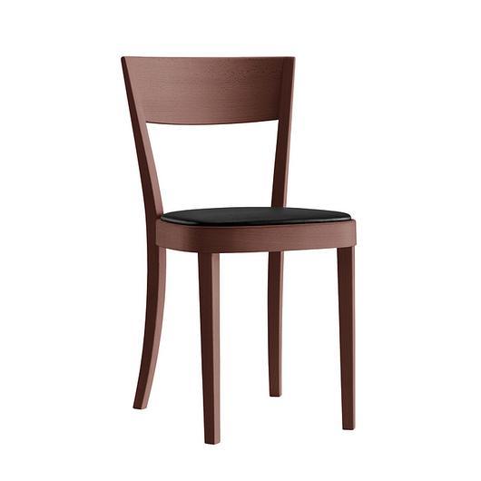 Upholstered Wooden Chair - lotus 1-063 / horgenglarus