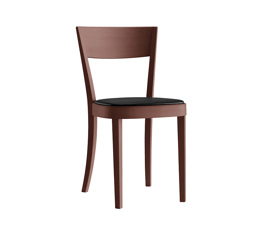 Upholstered Wooden Chair - lotus 1-063