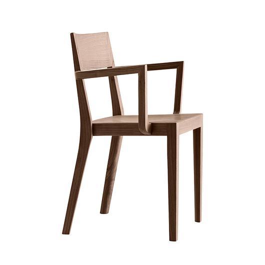 Wooden Armchair - miro 6-400a / horgenglarus