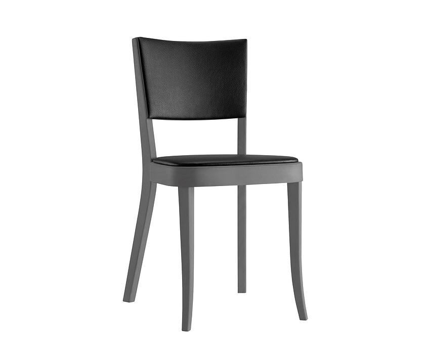 Upholstered Wooden Chair - haefeli 1-795