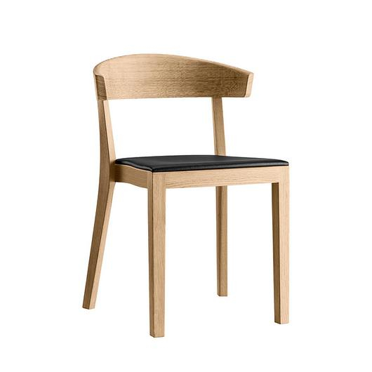 Upholstered Wooden Chair - klio 3-353