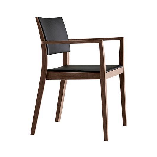 Upholstered Wooden Armchair - matura esprit 6-595a / horgenglarus