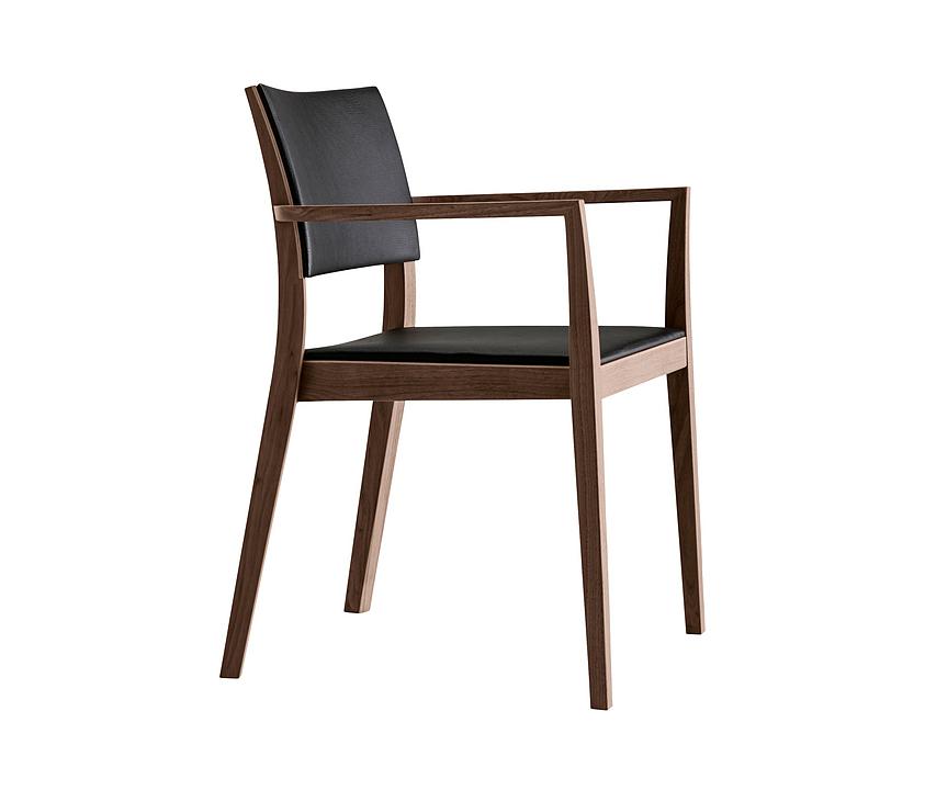 Upholstered Wooden Armchair - matura esprit 6-595a