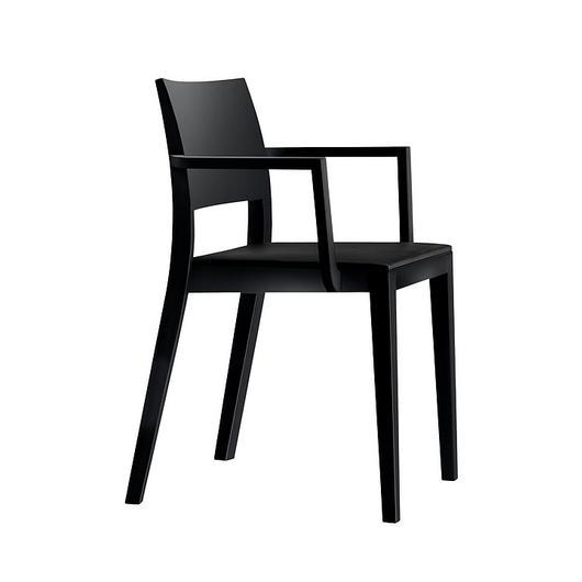 Upholstered Wooden Armchair - lyra esprit 6-553a / horgenglarus