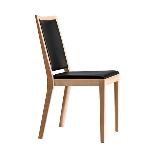 Upholstered Wooden Chair - miro montreux 6-406 / horgenglarus