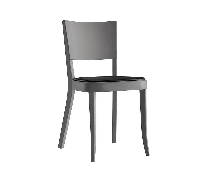 Upholstered Wooden Chair - haefeli 1-793