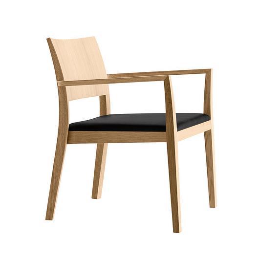 Wooden Armchair - lounge esprit 6-695a / horgenglarus