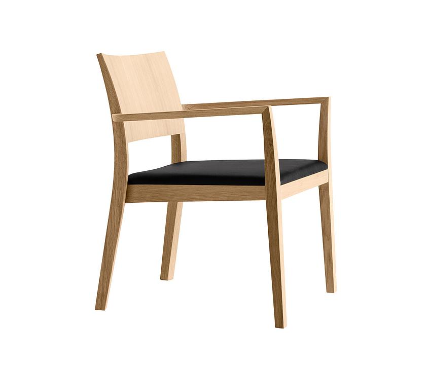 Wooden Armchair - lounge esprit 6-695a