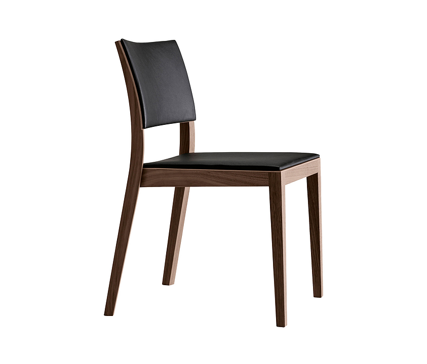 Upholstered Wooden Chair - matura esprit 6-595