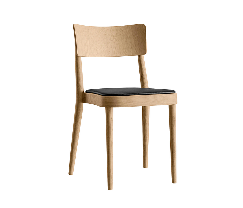 Upholstered Wooden Chair - stapel 1-683