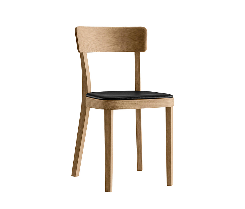 Upholstered Wooden Chair - icon 1-343