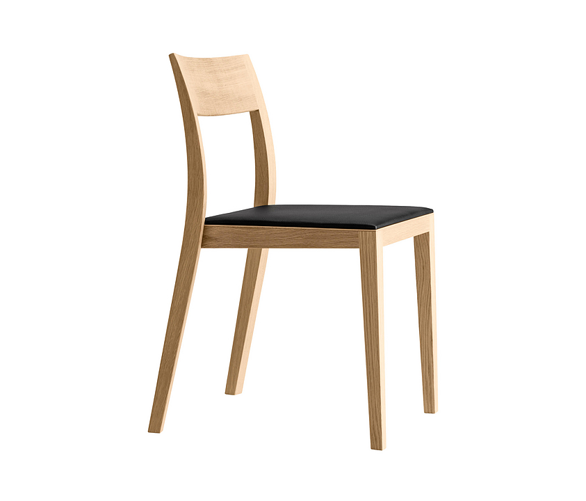 Upholstered Wooden Chair - lyra szena 6-573