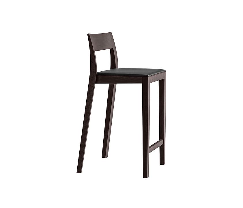 Upholstered Wooden Stool - lyra 11-663