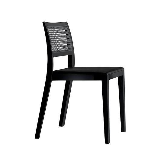 Upholstered/Woven Chair - lyra mandarin 6–543 / horgenglarus