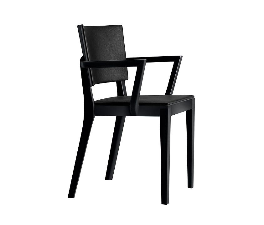 Upholstered Wooden Armchair - status 6-415a