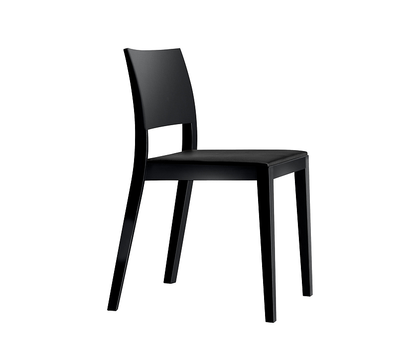 Upholstered Wooden Chair - lyra esprit 6-553