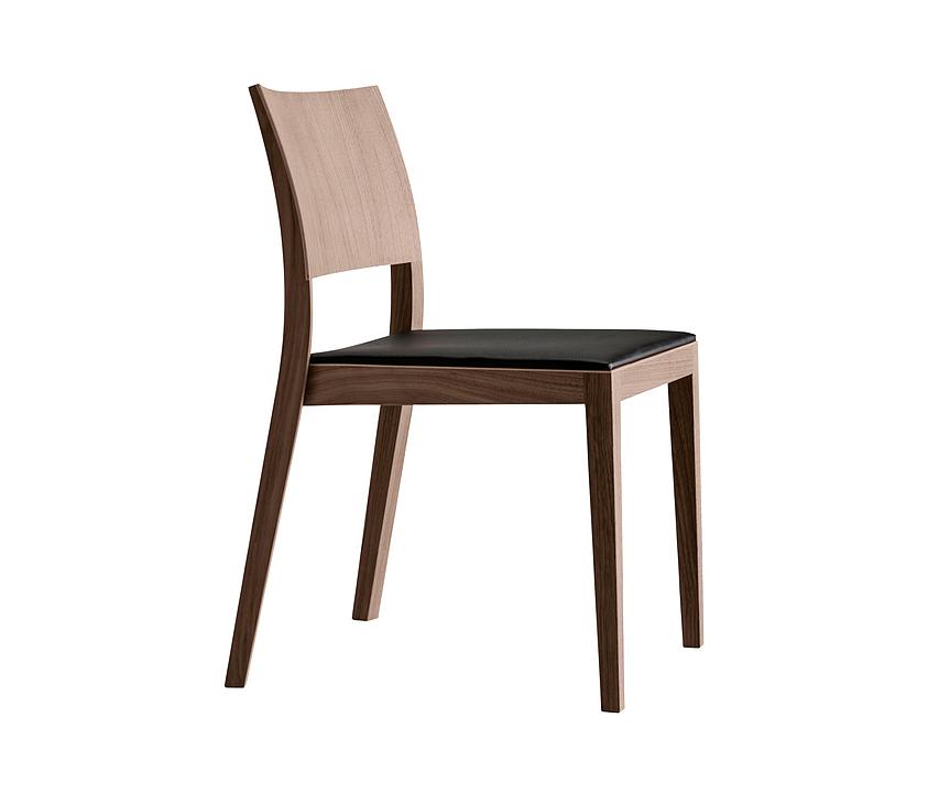 Upholstered Wooden Chair - matura esprit 6-593