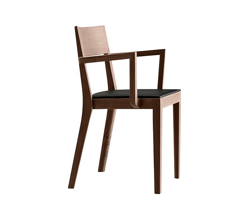 Upholstered Wooden Armchair - miro 6-403a