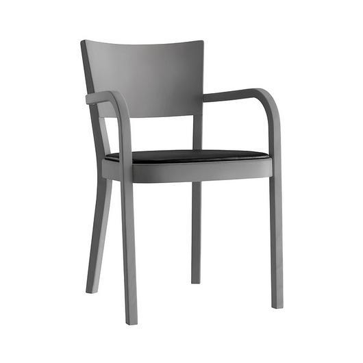 Upholstered Wooden Armchair - haefeli 1-793a / horgenglarus