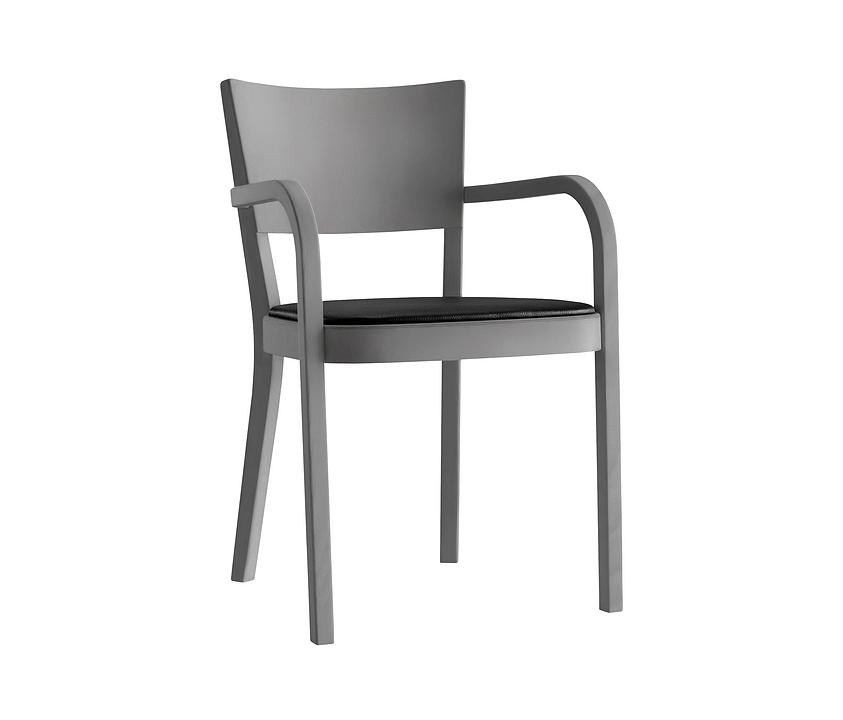 Upholstered Wooden Armchair - haefeli 1-793a