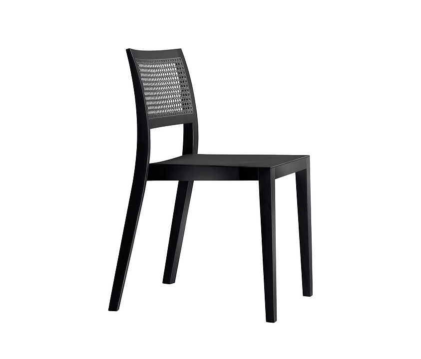 Woven Wooden Chair - lyra mandarin 6–540