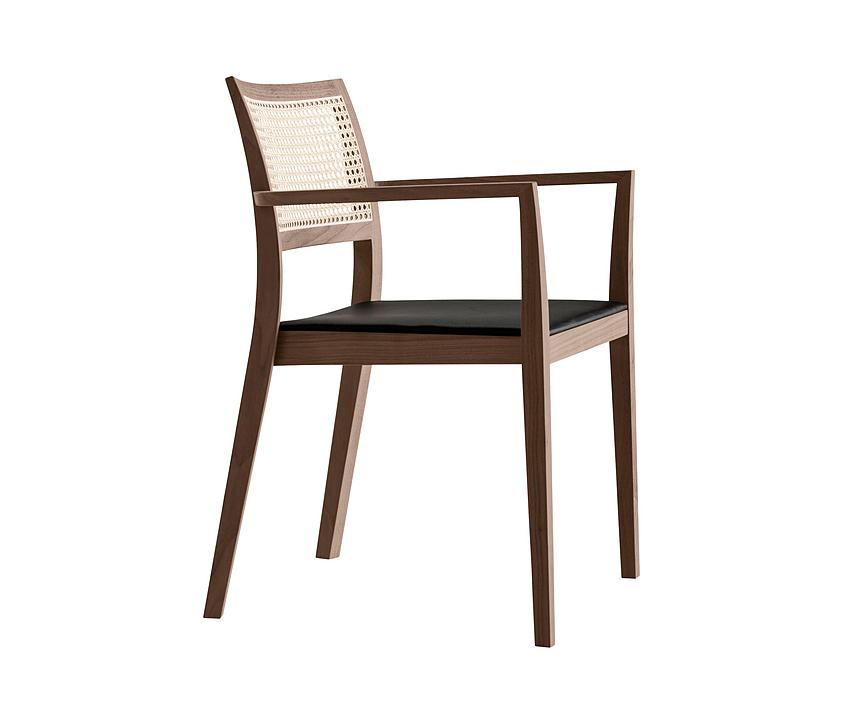 Upholstered Armchair - matura mandarin 6-596a