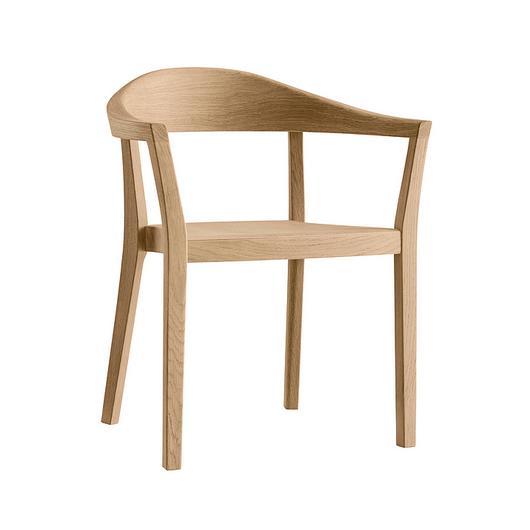 Wooden Armchair - klio 3-350a / horgenglarus