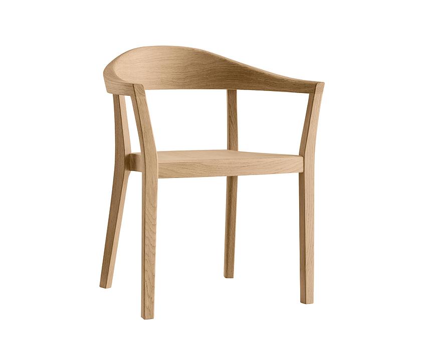 Wooden Armchair - klio 3-350a