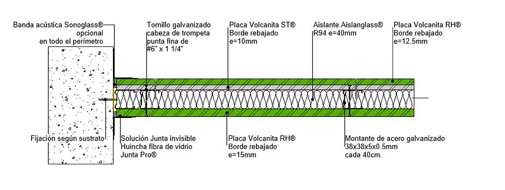 Tabique F60 shaft en BIM