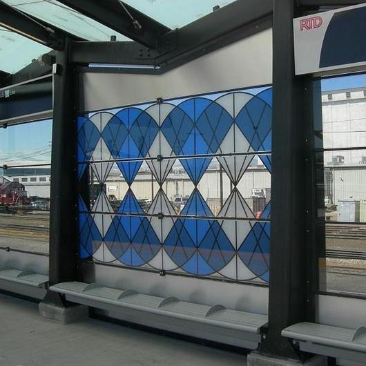 Ceramic Printing for Public Transportation / Dip-Tech