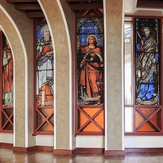 Digital Ceramic Printed Stained Glass Effect / Dip-Tech