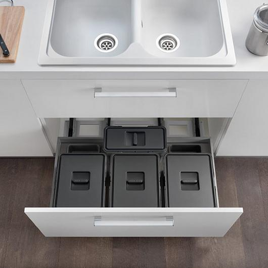 Waste Bin Systems - Pull-Out Units / Salice