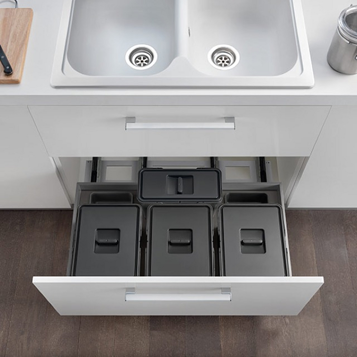 Waste Bin Systems - Pull-Out Units