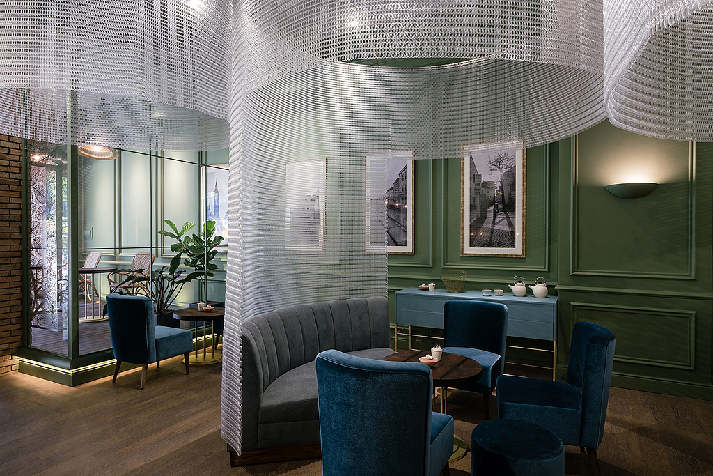 Architectural Mesh - Interior Hanging Screens