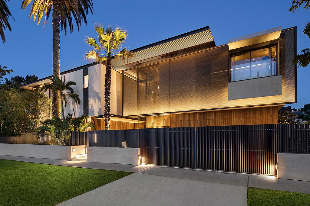 Architectural Mesh in Double Bay Residence