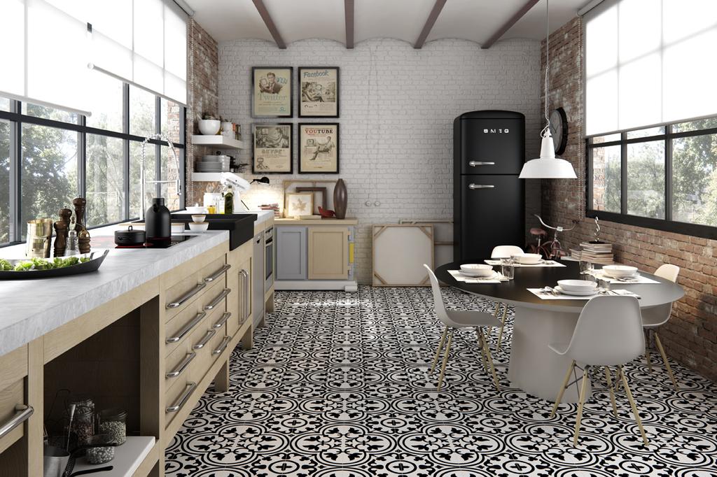 Tiles - Hydraulic