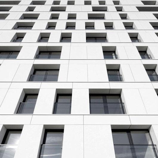 EQUITONE (tectiva) en Temse Apartment Building en Bélgica - Pizarreño