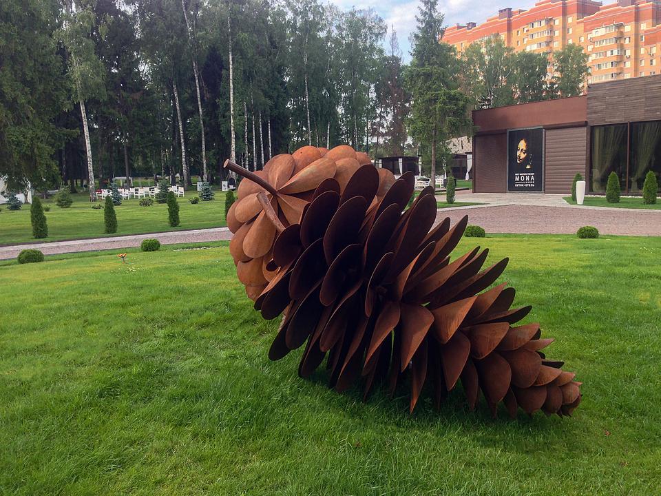 """Sculpture """"Pinecone"""""""
