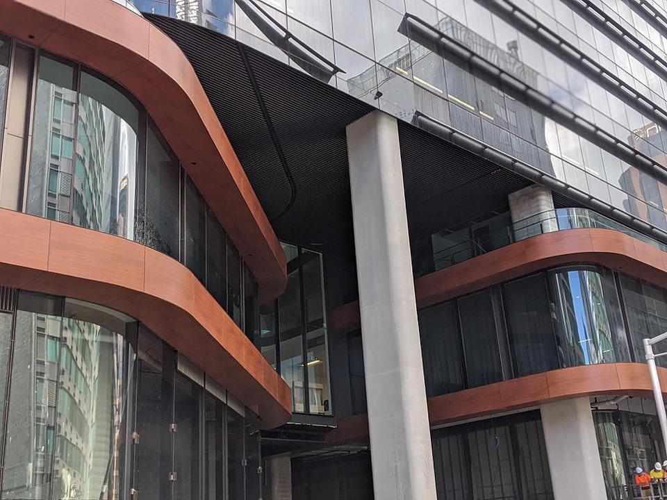 DecoPanel in Channel Nine Building