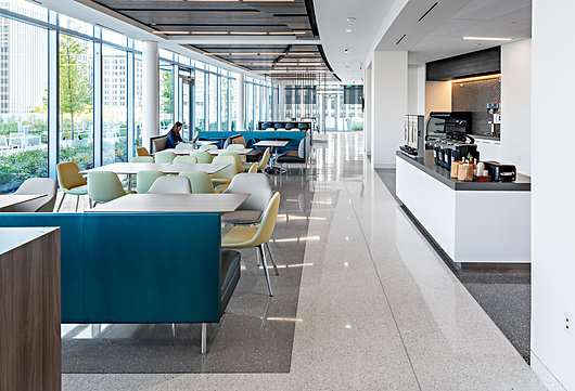 Anti-Bacterial Terroxy Resin Systems in Office Buildings