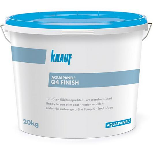 Acabado para interior - Q4 Finish Aquapanel® / Knauf