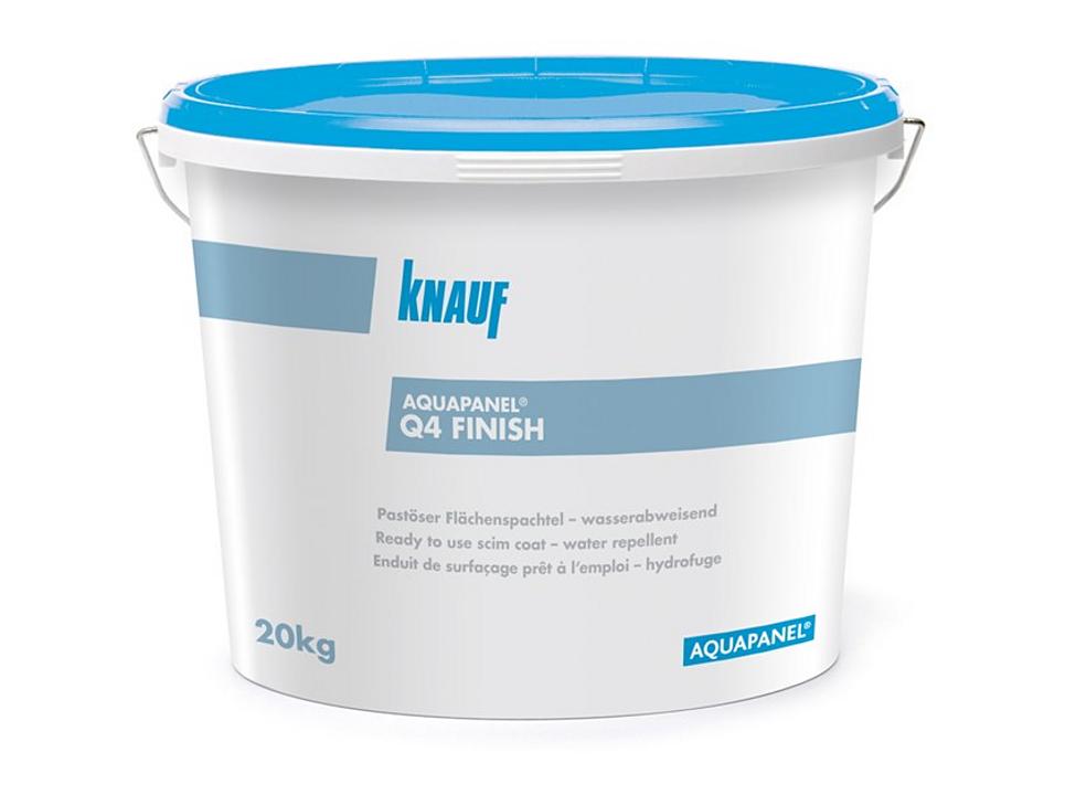 Acabado para interior - Q4 Finish Aquapanel®
