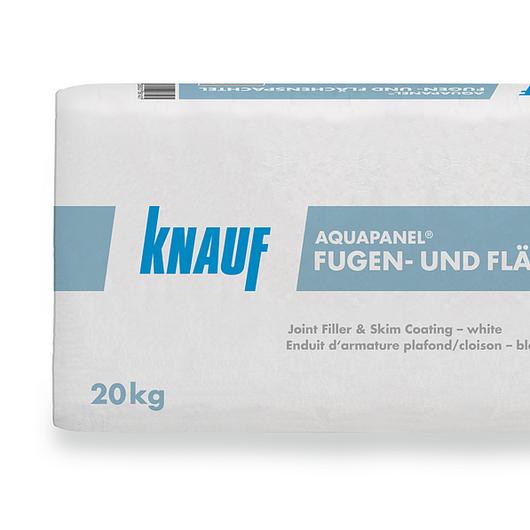 Mortero de juntas y superficial blanco Aquapanel®  Indoor / Knauf