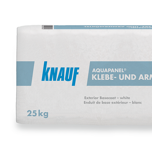 Mortero superficial blanco - Aquapanel® Outdoor / Knauf