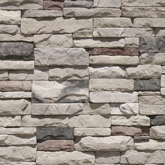 Revestimiento de piedra fabricada - Apilable Gris / Metaldesign