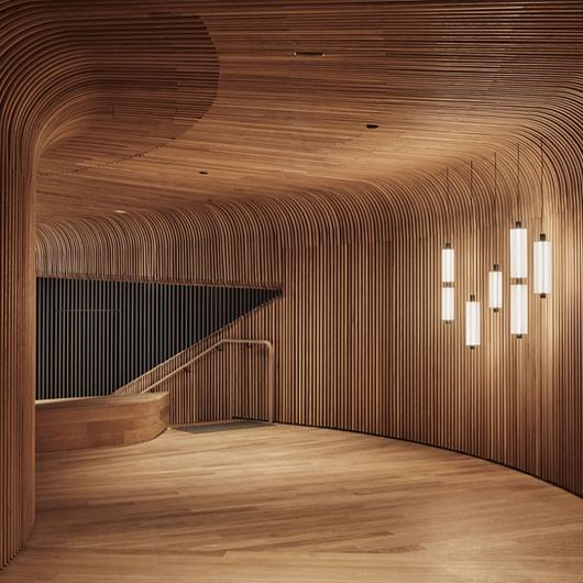 Curved Timber Battens