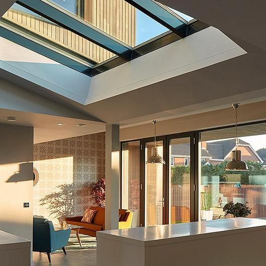 Glass Roof PR60 Passivhaus